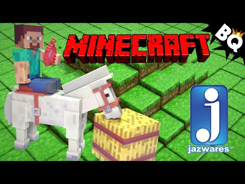 Minecraft Overworld Steve and Horse Action Figure Pack by Jazwares Review