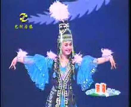 Kazakh Dance - A Young Girl With Feather  带羽毛的少女 Music Videos