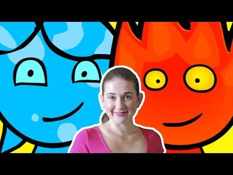 ПРИКЛЮЧЕНИЯ ОГОНЬ и ВОДА в светлом храме #2 Развлекательное видео для детей Игровой мультик