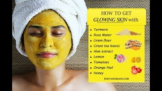 How To Make Skin Glow Home Remedies For Glowing In Urdu And Hindi By Beauty
