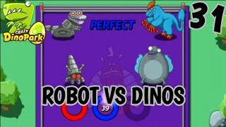 CRAZY DINO PARK - WHO WILL WIN ??? (android gameplay)