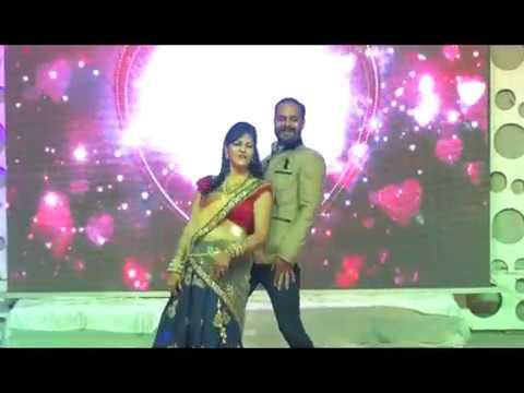 Couple Dance......me se meena se na saki se by Arunima & Vaibhav gautam Kota