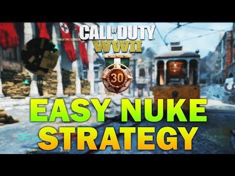 EASY NUKE GUIDE - How To Get A Nuke In COD WW2 (Easy Nuke Tutorial COD WW2)