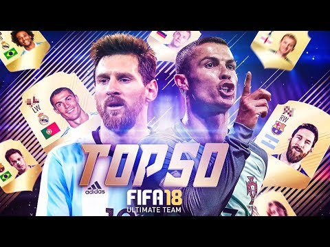 ТОП 50 ИГРОКОВ В FIFA 18