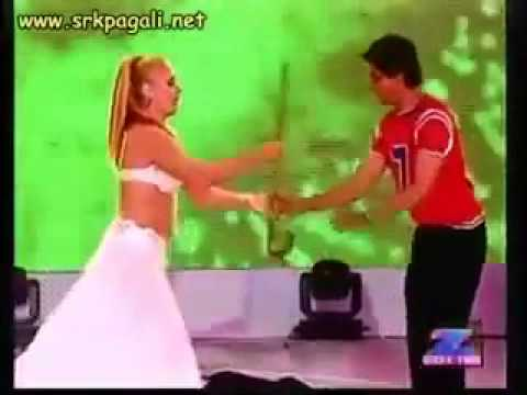 Shahrukh Khan Dances Belly Dance In Zee Cine 2004