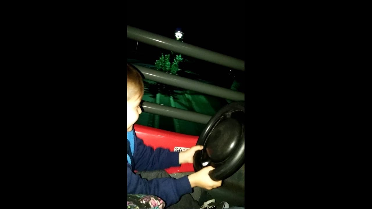 Austin Driving on Autopia - YouTube