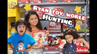 NEW! RYAN TOY WORLD HUNT AT WALMART UNBOXING!(RARE FOUND)