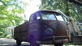 1st drive 1959 vw single cab