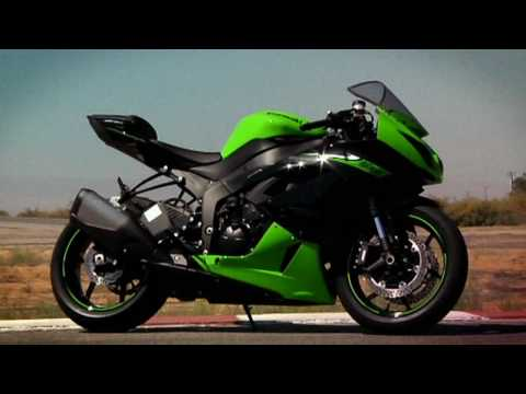 2010 Kawasaki Ninja ZX-6R Supersport Video