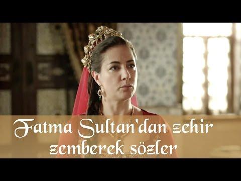 Muhteşem Yüzyıl 130. Bölüm - Fatma Sultan'dan zehir zemberek sözler