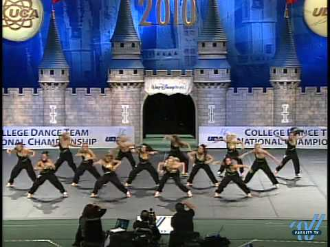 UDA College Nationals 2010: University of Tennessee- Div IA Hip Hop 5th place Video
