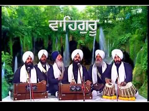Shabad Gurbani Kirtan Video Amrit Ras Piya - Bhai Manpreet Singh Kanpuri Ji video
