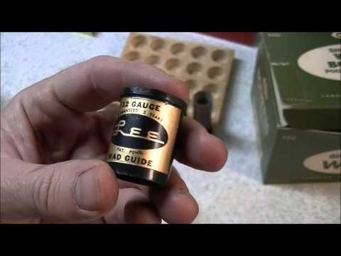 Reloading 12 Gauge Shotgun Shells with the Lee Loader Set