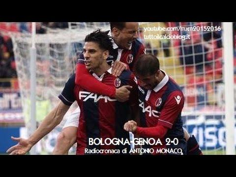 BOLOGNA-GENOA 2-0 - Radiocronaca di Antonio Monaco (24/4/2016) da Rai Radio 1