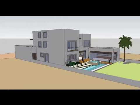 Programa para dise ar una casa en 3d youtube for Software diseno de casas
