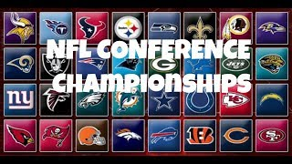 NFL Conference Championships Picks & Predictions 2019