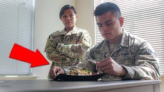 Full Day Of MILITARY Eating | Air Force Life Off Base