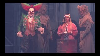 Eddie de Clown Eddie Show 2018 Eddie's Roast Show Walibi Halloween Fright Nights