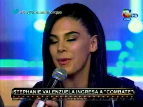 Combate: Stephanie Valenzuela Es El Reemplazo De Manuela Garrido Lecca
