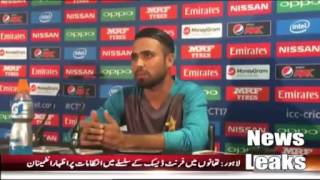 faheem ashraf awesome bating in warm up match vs bangladaish