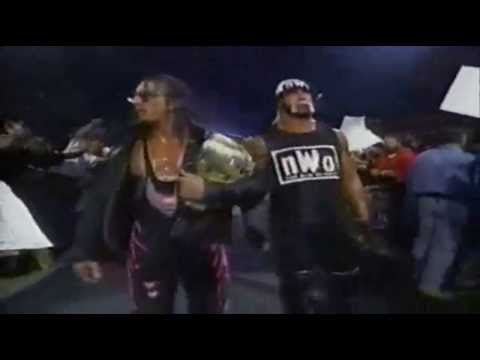 Sting & Ultimate Warrior vs Hulk Hogan & Bret Hart 12-10-98