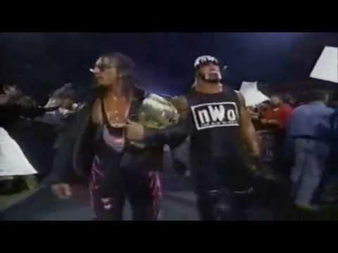Sting & Ultimate Warrior vs Hulk Hogan & Bret Hart 12-10-98