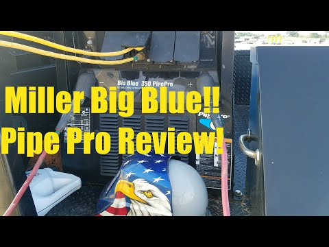 Miller Big Blue Pipe Pro. Review!!