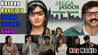 Korean React to 'Jagga Jassos' Bollywood movie trailer [ENG SUB]