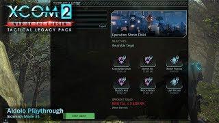 Aldelo play XCOM 2: W.o.t.C. TLP - Try Skirmish #1 - Templar+Ranger Squad *