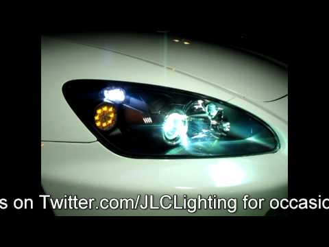 Honda S2000 AP2 Custom LED Turn Signal Retrofit by JLC Lighting