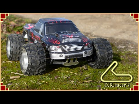 RC truggy WLtoys A979 mud racing