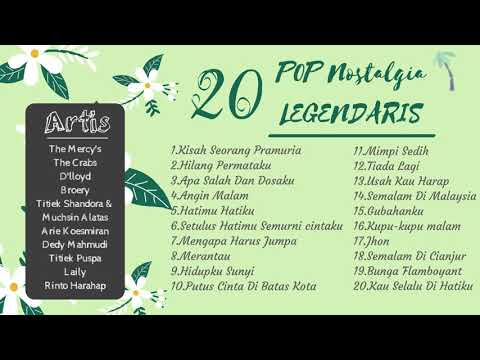 20 POP NOSTALGIA LEGENDARIS