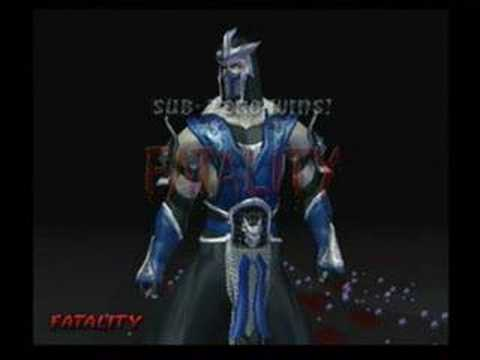 sub zero and scorpion fatalities