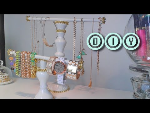 DIY Accessory Holder | Necklace, Headband, Eyewear & Bracelet