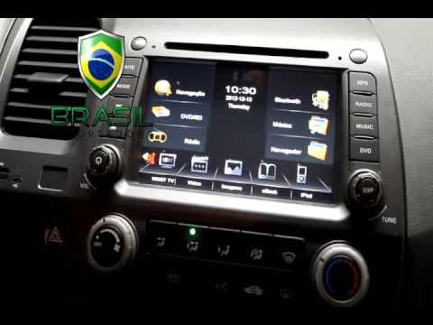Central Multimidia Honda New Civic Kit Original Dvd Gps Tv