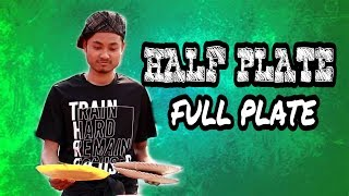 HALF PLATE - FULL PLATE || Cheap Stories!!