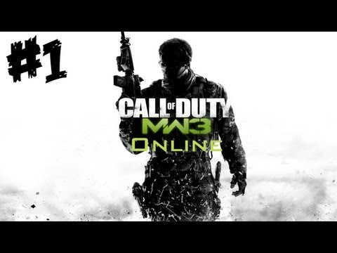 Let's Play Call of Duty: MW3 Online #1 - Toller Start :D