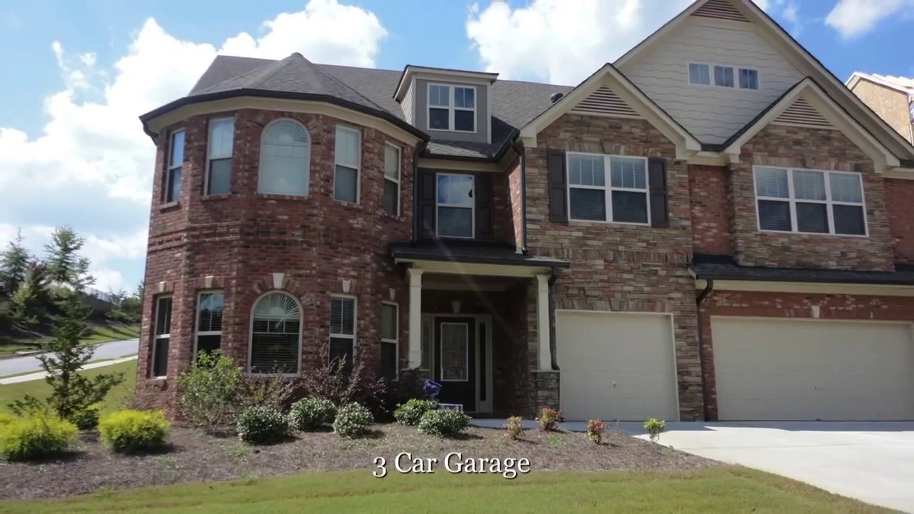 Atlanta new homes in south fulton camp creek youtube Modern houses in atlanta