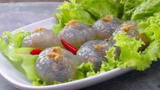 Download Lagu Thai stuffed Tapioca Pearl Balls - Vegan Vegetarian Recipe Gratis STAFABAND