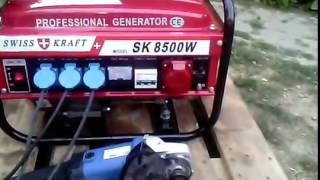 new swiss kraft sk 8500w 380V  generator