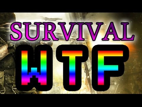 Survival - Biggest WTF Moment - MW3 Survival Mode Glitch