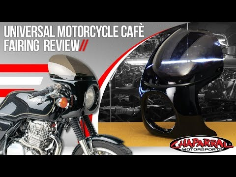Universal Motorcycle Cafe Fairing Review