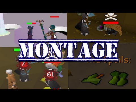 Runescape 2007 - Sparc Mac's Last 99 Range & 45 Defence Pk Video Montage!