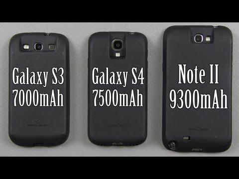 ZeroLemon Samsung Galaxy S3 (7000mAh) Galaxy S4 (7500mAh) and Note II (9300mAh) Extended Batteries!