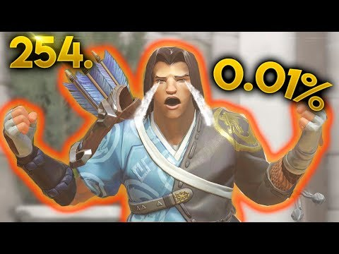 0.01% HANZO SHOT.. | OVERWATCH Daily Moments Ep. 254 (Funny and Random Moments)