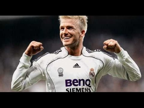 David Beckham Football Skills PART 2(Real Madrid)