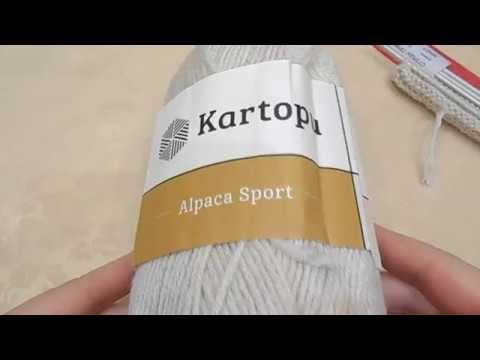 Обзор пряжи Cartopu Alpaca Sport