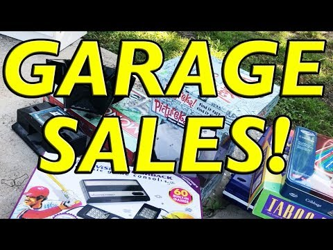 $60 into $500 at Garage Sales & Thrift Stores! Reselling 101