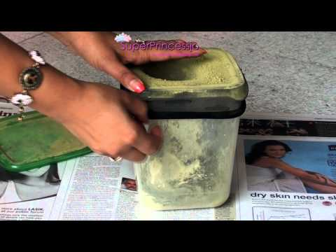 How To Make Henna Paste:Filter.Sift. Clean Henna At Home. How To Sift ...