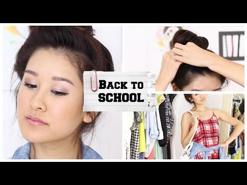 Back to School: Drugstore Makeup, Hair, & Outfit!